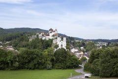 Aarburg, die Schweiz Lizenzfreies Stockfoto
