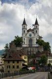 Aarburg-Kirche Stockbilder