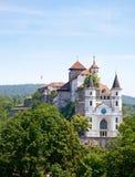 Aarburg Schloss Stockbilder