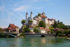 Aarburg Schloss Stockfotos