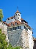 Aarburg Schloss Lizenzfreie Stockfotos