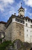 Aarburg-Schloss Lizenzfreie Stockfotos