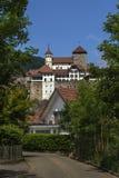 Aarburg-Schloss Lizenzfreies Stockbild