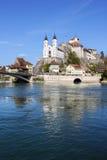 Aarburg-Schloss, die Schweiz Stockfotos