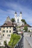 Aarburg Schweiz Fotografering för Bildbyråer