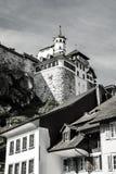 Aarburg Schweiz Arkivbild