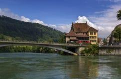 Aarburg Schweiz Royaltyfria Bilder