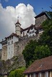 Aarburg slott Arkivfoton