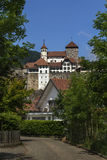 Aarburg slott Royaltyfri Bild
