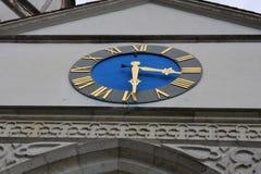 Aarburg stad i Schweiz Arkivbild