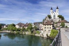 Aarburg, Suisse Photographie stock libre de droits