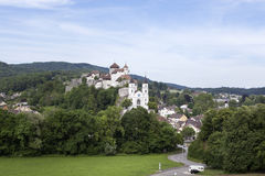 Aarburg, Suisse Photo libre de droits