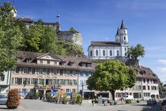 Aarburg, Suiza Imagen de archivo