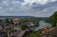 Aarburg, Suiza Imagen de archivo libre de regalías