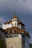 aarburgfästning switzerland royaltyfri fotografi