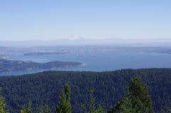 Aard die Vancouver omringen royalty-vrije stock foto's
