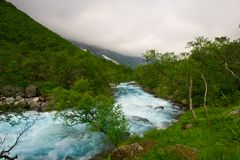 Aard en de schoonheid van Noorwegen Royalty-vrije Stock Fotografie