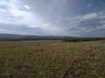 Aard en landschap in de verre provincies van Rusland royalty-vrije stock fotografie