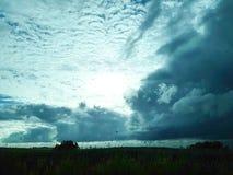 Aard, 100%, hemel, wolk, zon, de winter Royalty-vrije Stock Foto