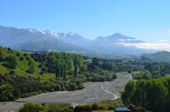 Aard in Nieuw Zeeland Stock Fotografie