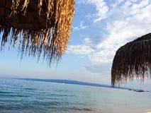 Aard in strand Royalty-vrije Stock Foto's