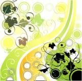 Aard-thema achtergrond Vector Illustratie