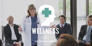 Aard van de de geschiktheids ontspant de Goede Gezondheid van de Wellnessenergie Concept Stock Foto