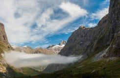 Aard van de wildernis van Nieuw Zeeland Stock Fotografie