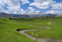Aard van Lori Province, Armenië stock foto