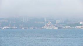 Aard van Vladivostok Primorsky Krai stock footage