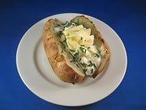Aardappel in de schil 3 stock fotografie
