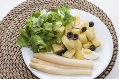 Aardappel salade Stock Afbeeldingen