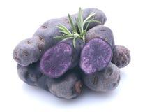 Aardappel Violette Royalty-vrije Stock Afbeeldingen