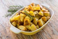 Aardappelbraadstuk Stock Foto's