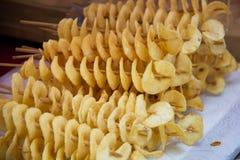 Aardappeldraai Stock Foto
