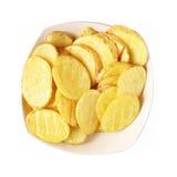 Aardappelen in de schil stock fotografie
