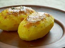Aardappelen in de schil Royalty-vrije Stock Foto