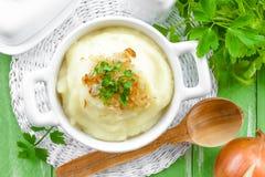 Aardappelpuree Royalty-vrije Stock Afbeelding
