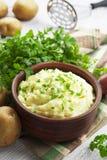Aardappelpuree Stock Fotografie
