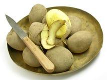 Aardappels 3 van de schil Royalty-vrije Stock Foto's