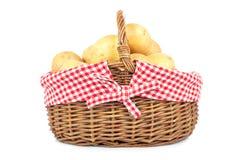 Aardappels in de mand Royalty-vrije Stock Foto