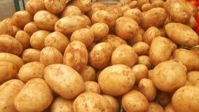 Aardappels in de markt royalty-vrije stock foto