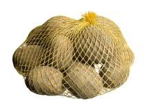 Aardappels in een net Royalty-vrije Stock Foto's
