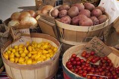 Aardappels en Tomaten Royalty-vrije Stock Foto