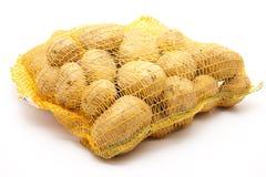 Aardappels in het net royalty-vrije stock foto's