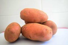 Aardappels, wereldvoedsel Stock Afbeeldingen