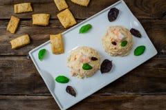 Aardappelsalade met mayonaise royalty-vrije stock afbeeldingen