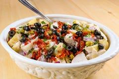 Aardappelsalade met Pittige Griekse Yoghurtvulling stock fotografie