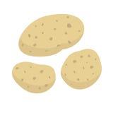 Aardappelsvector Royalty-vrije Stock Foto's