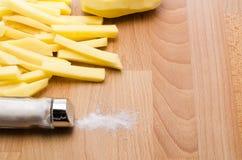 Aardappelsvoorbereiding Royalty-vrije Stock Foto